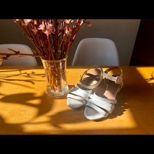 ae5b9e2348bc Maryam Nassir Zadeh Shoes - Maryam Nassir Zadeh MNZ Low Palma Sandal White  38